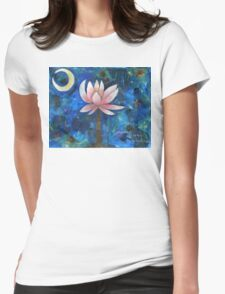 No Mud, No Lotus Womens Fitted T-Shirt