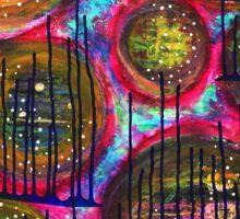 Floating on Ecstasy : Inner Power Painting Sticker