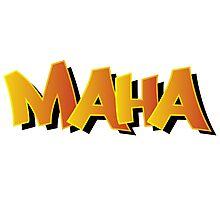 Maha Graffiti Photographic Print