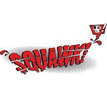sQuawk! Comic Logo Photographic Print