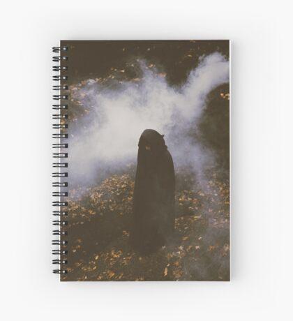 Autumn Queen Spiral Notebook