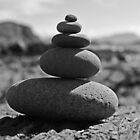 Five Rock Zen Meditation by David Alexander Elder