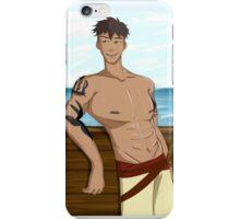 Captain Kai of the Waterbender iPhone Case/Skin