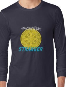 Phantom Stranger Distressed Emblem Shirt Long Sleeve T-Shirt
