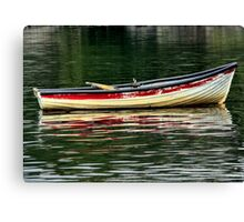 reflections of red & green Canvas Print