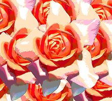 Abstract Roses by poppyflower