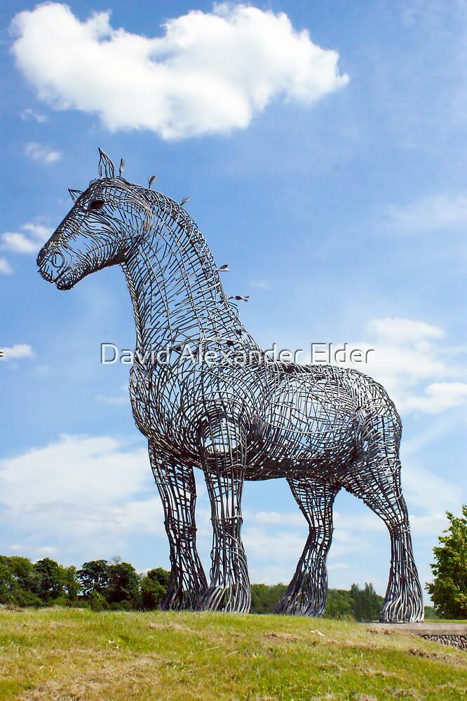 Heavy Horse by David Alexander Elder