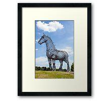 Heavy Horse Framed Print