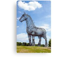 Heavy Horse Canvas Print