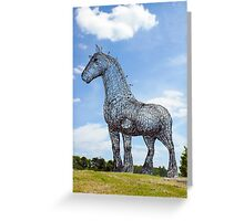 Heavy Horse Greeting Card
