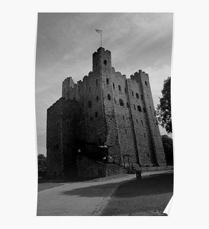 Rochester Castle Poster