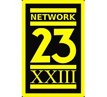 Max Headroom NETWORK 23 Logo Cult Sci-Fi TV Show Photographic Print
