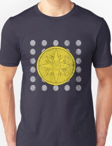 Phantom Stranger Emblem with Silver Coins Distressed Shirt Unisex T-Shirt