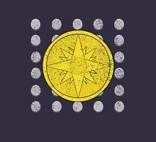 Phantom Stranger Emblem with Silver Coins Distressed Shirt Unisex T-Shirt