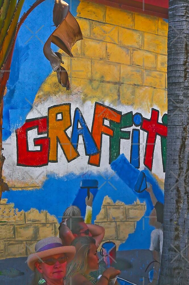 Graffiti & Reality!  by Heather Friedman