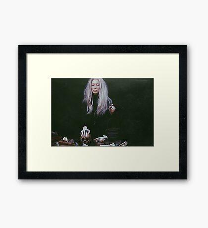 Burial Ground Framed Print