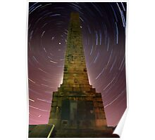 Scarborough Startrails Poster