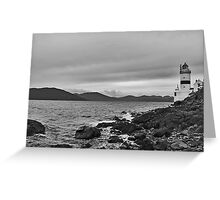 Cloch Lighthouse Greeting Card
