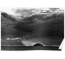 Storm over the Craig Poster