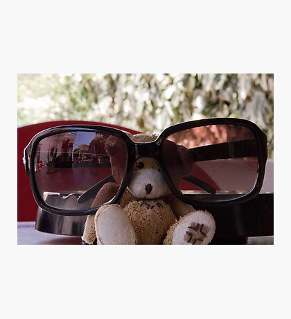 Ted looking cool Photographic Print
