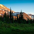 Spray Park Panorama by Inge Johnsson