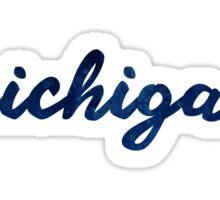 University of Michigan Watercolor Sticker
