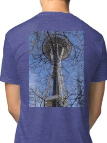 Space Needle Study 1  Tri-blend T-Shirt