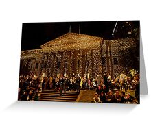 0984 Melbourne - White Night 16 Greeting Card