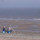 Waiting for the tide, Spurn, East Yorks by epgaskell