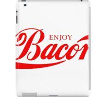 ENJOY BACON RED iPad Case/Skin
