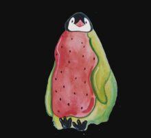 Watermelon Penguin Baby Tee