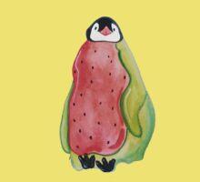 Watermelon Penguin One Piece - Short Sleeve