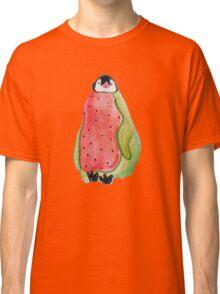 Watermelon Penguin Classic T-Shirt