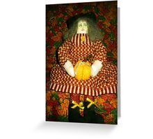 Witch Hazel Greeting Card