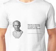 Cicero: Learn History; Grow up Unisex T-Shirt