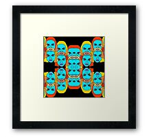 colorful women Framed Print