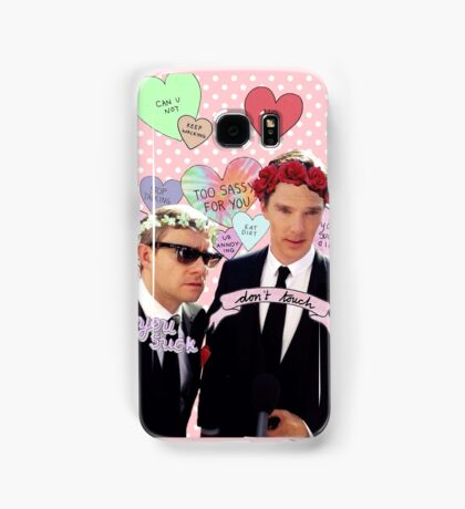 Sassy Cumberbatch and Freeman Samsung Galaxy Case/Skin