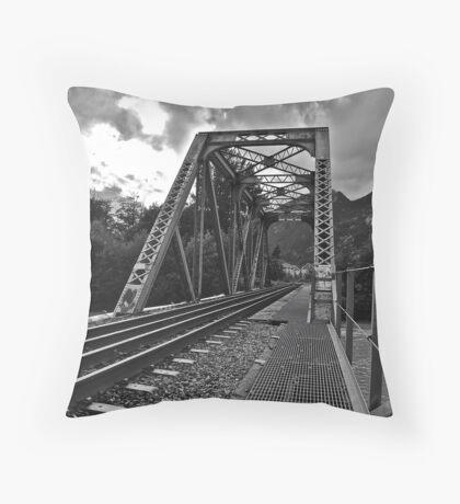 Squamish Railway Throw Pillow