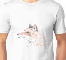 Orange Fox Unisex T-Shirt