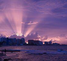 Pink Sunset by Lindie Allen