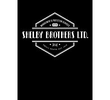 Peaky Blinders - Shelby Brothers - White Clean Photographic Print