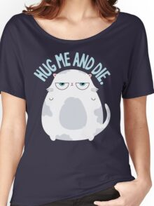 Cats Hate Hugs Women's Relaxed Fit T-Shirt