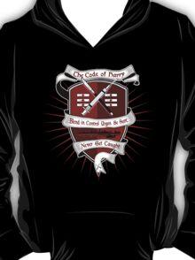 The Harry Code Dark tee (silver)  T-Shirt