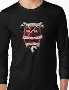 The Harry Code Dark tee (silver)  Long Sleeve T-Shirt