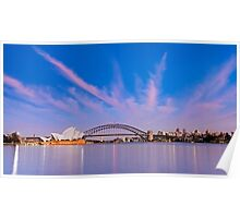 Sydney Harbour Sunrise Poster