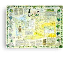Washington Wine Country Canvas Print