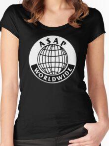 ASAP Worldwide Women's Fitted Scoop T-Shirt