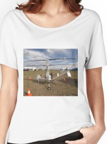 Helicopter VH-XRN,Avalon Airshow,Australia 2015 Women's Relaxed Fit T-Shirt