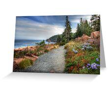 Coastal Meandering Greeting Card
