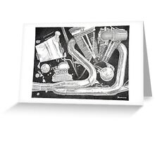 Chrome Symphony - - Allegro Greeting Card